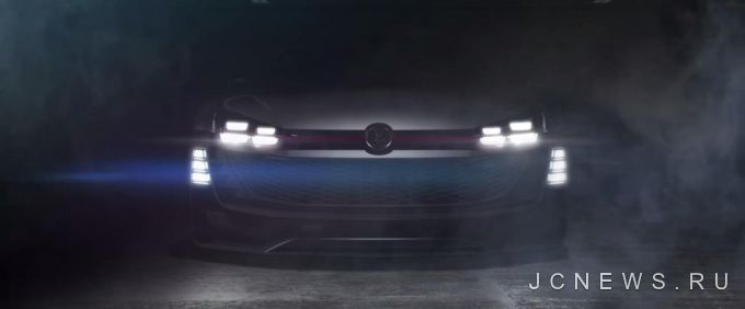 Volkswagen выпустил тизер GTI Supersport Vision Gran Turismo